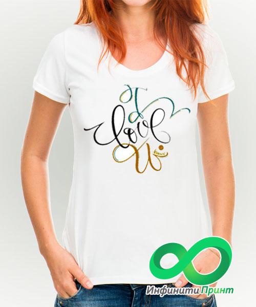 логотип печать футболок